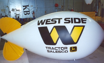 11ft advertising blimp with logo
