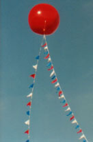Helium balloon manufactured by Arizona Ballons