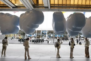 Cloud Balloons - Cloud shape helium balloons help build your brand.