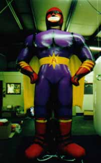 Super Hero advertising inflatable - 13ft.