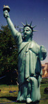 Patriotic Advertising Inflatables - 18ft. Statue of Liberty balloon