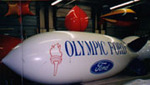 Advertising Blimp - 20ft. Olympic Ford logo