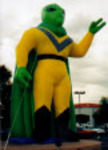 Advertising Inflatables - Alien Balloon, Alien Inflatables available
