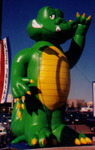 Custom Advertising Balloon - Alligator 25ft.
