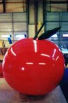 Apple - 6' helium inflatable fruit