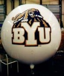 Advertising Balloon - BYU Cougar logo