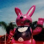 Custom Advertising Inflatable - Easter Bunny Inflatables - Bunny Balloons available