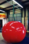 Cherry - 6' helium inflatable - standard shape