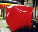 Cube - 6' helium inflatable - custom shape balloon