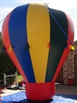 Advertising balloons - cold-air inflatables in stock - custom banners and artwork available. 16ft. cold-air balloon from $1895.00. custom ballons available.