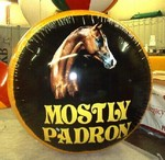 Custom Balloons - helium disc with horse logo - helium product replicas