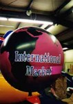 7' helium balloon with complex artwork - Earth. Customized globe balloons available.
