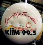 custom advertising balloon - disk radio station inflatable
