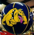 helium balloon advertising - Georgia Lady Dawg helium balloon - 6ft. balloons from $169.00 artwork additional. College mascots are a specialty! Makes great Dune Balloons!