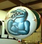 Fire breathing Dragon balloon photo