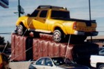 Giant Car and truck replicas - cold-air balloons and auto shape helium inflatables - Nissan Frontier inflatables