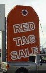Red Tag Sale Balloon