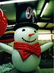 Snowman - 15' parade balloon.