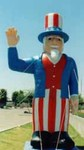 Uncle Sam inflatables - Buy Uncle Sam Balloons - Rent Uncle Sam balloons.