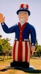 Unlce Sam balloon - Rent giant Uncle Sam balloons. Easy to set-up!