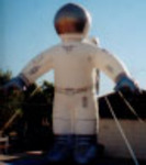 Custom advertising inflatables - Astronaut inflatables