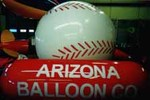 Baseball - 7' helium ball