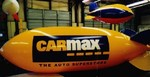 Advertising Blimp - CARMAX logo