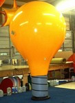 custom balloon - light bulb - sealed-air inflatables